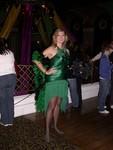Friday night - Britta at Alice Radio's Mardi Gras Party at Ruby Skye
