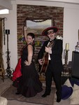 Saturday party begins with the Flamenco Barbieris