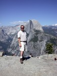 Ben at the top of Glacier Point