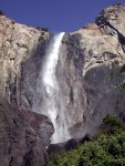 Bridalveil Falls closer to base