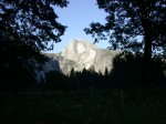 Halfdome in the evening light