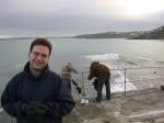 Fri Dec 31 08:15:25 2004 Smiling Nick in front of St Ives Bay