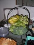 Mr. Green's Games = green fruit & veggies