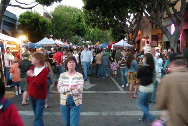 Farmers Market in downtown San Luis Obispo