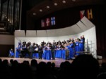 Vocal Arts of San Luis Obsipo performing the opening concert Friday night
