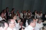 Intermission backstage - I love the Finnish men's vests!