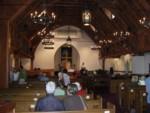 The beautful church interior