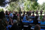 Delicious BBQ Sunday afternoon with live mariachi music