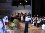 Combined rehearsal for the finale concert Sunday night