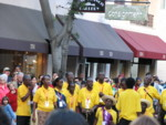 Christ the King choir performs on the street