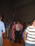 Santa Rosa's flag bearer
