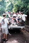 Truck to the canopy tour in Costa Rica