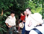 On the tropical rain forest tour at Punta Leona, Costa Rica