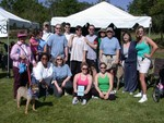 Group photo - The Choral Project at Human Race 2006
