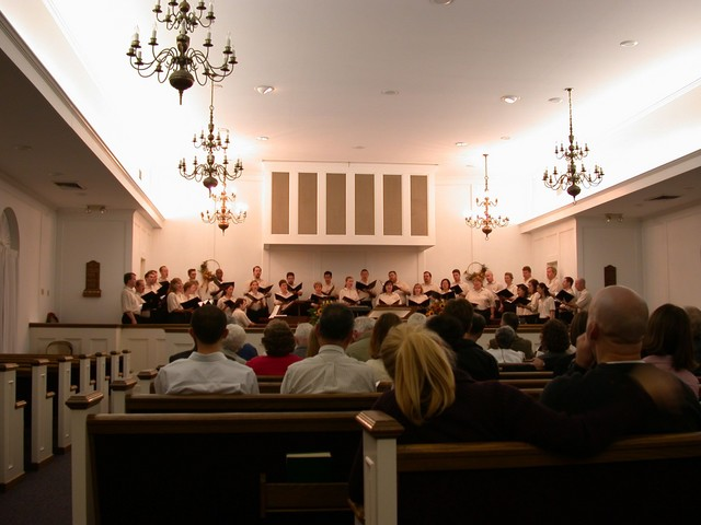 Choral Project in concert at a local church near Washington DC
