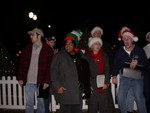 Caroling at Christmas in the Park in San Jose (Dec 19th, 2005)