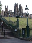 The Playfair Steps - we walked these TOO many times in 2 days! ;)