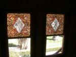 More Tiffany stained glass in the Daisy Bedroom