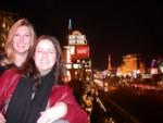 Britta & Amanda in Las Vegas Friday night