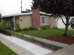 Labor Day Project Weekend - Day One Progress  - Full front yard view - September 2006