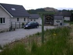 The Lothlorien Bed & Breakfast is still under constuction near Loch Linnhe