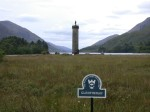 Glenfinnan Monument by the loch