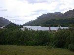 Glenfinnan Monument from up the hill
