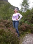 Purple Britta in the Purple Heather