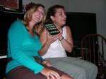 Britta & Ruth answering a call