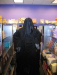 A Dementor stalks the scrapbook supplies...