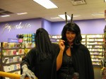 Even Dementors like to give bunny ears.