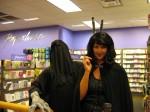 Even Dementors like to give bunny ears.