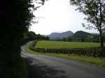 Winding Cumbrian Road