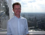 Andy at the London Eye