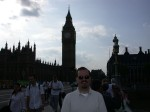 Ben & Big Ben! On Westminster Bridge