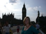 Big Ben & Britta on Westminster Bridge
