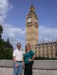 Ben & Britta with Big Ben