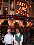 Andy & Ben at Guys & Dolls