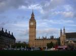 Big Ben with beautiful sky