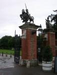 Front gate of Hampton Court Palace