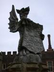 dragon sculpture at Hampton Court Palace