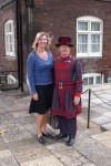 Britta and a Beefeater