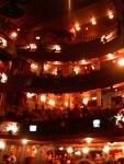 3 balconies at the Palace Theatre! Glad we had seats on the main floor!
