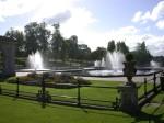Fountains at Marlborough gate in Kensington Park