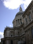 The giant dome of St Paul's Cathedral
