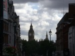 View back at Big Ben from Trafalgar Square