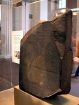 Back at the British Museum again for the real Rosetta Stone - can you read it? ;)