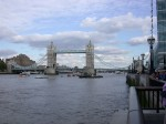 Tower Bridge from the south bank of the Thames