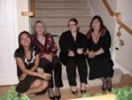 Jenie, Sheila, Erin & Kat