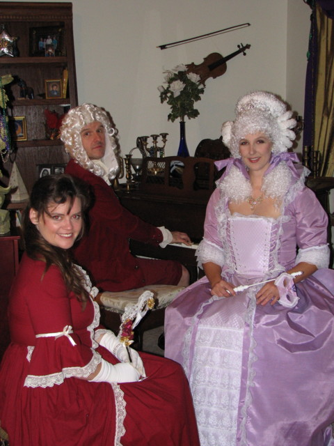 The Bachs with Marie Antoinette